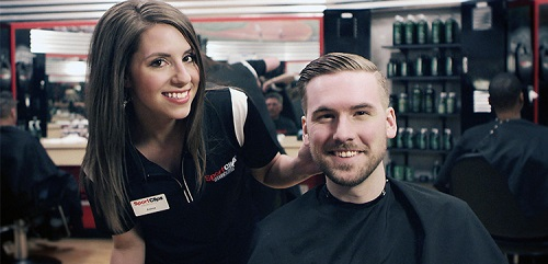 Sport Clips Haircuts of Strongsville - Plaza at SouthPark​ stylist hair cut